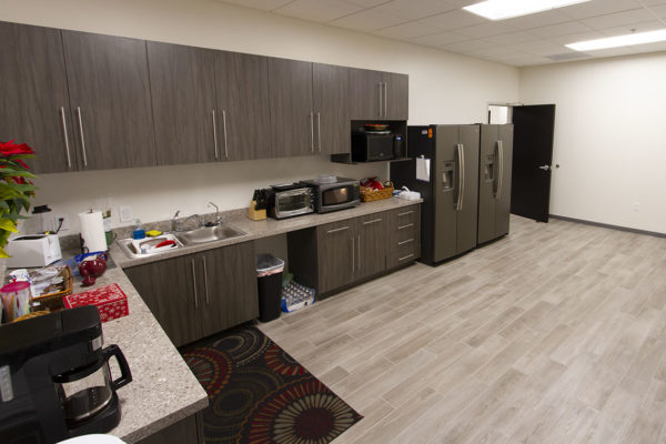 Event space for rent - kitchen/break area